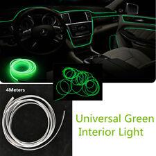 4M Car LED Interior Green Optical Fiber Light Ambient Decorative lamp Door Light