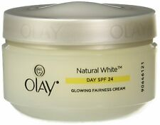 Olay Natural White 7 in1 Glowing Fairness Day Skin Cream SPF 24,50g free ship UK