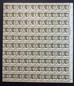US #1584 3c Ballot Box, Americana Issue Precancel Sheet. MNH OG F-VF