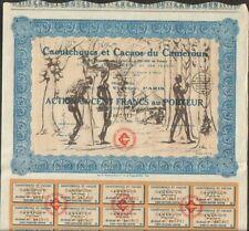 DECO => CAOUTCHOUCS & CACAOS du CAMEROUN (G)