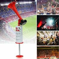 Hand Held Pump Powered Fog Air Horn Portable No Gas Party Sports Boat Loud