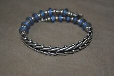 Alex and Ani Expandable + Energy Bracelet Silver Fleetwood Sky Wrap RETIRED