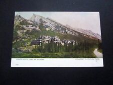 Canada National Park, Banff Hotel & Mt Rundle, #97 Stamp, CV $6.00, Early 1900's