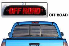 Vinyl Decal Third Brake Light Off Road Kit for Toyota Tacoma TRD 2005-2015 Black
