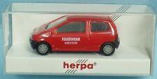 HERPA Nr.080026 Renault Twingo Feuerwehr-Dienstwagen 'FW KREUTLER' - OVP