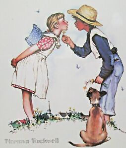 1997 Norman Rockwell Beguiling Buttercup Northern Knights Fine Art Co Print NEW