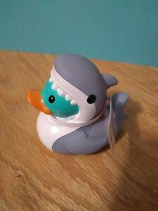 Shark RUBBER Duck Ducky Infantano NWT Cute!!!