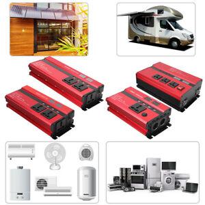 5000W 10000W Car Solar Power Inverter 12V To 110V Modified Sine Wave Converter
