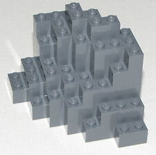 Lego New Dark Bluish Grey Rock Panel Medium Symmetric Part