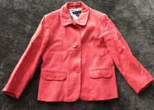 boden ladies Linen Pink & Peach/orange coat size 12