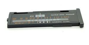 Calculator Panel for OLYMPUS OM T20 T-20 Flash