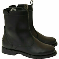 Merlin Coley Mens Waterproof Leather Motorcycle Ankle Boots | Black | MWB058/BLK