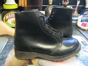 hawkins doc dr martens astronauts made in england black ankle boots uk 7.5 new