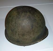 Casque USM1 Américain WW2 jamais repeint - parfait état et complet