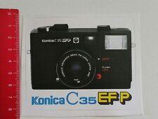 Pegatina/sticker: Konica C 35 EFP Camera (04011782)