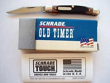 ORIGINAL USA MADE SCHRADE 180T MIGHTY MITE OLD TIMER LINER LOCK  KNIFE