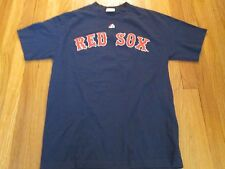 MAJESTIC MLB BOSTON RED SOX SHANE VICTORINO JERSEY T-SHIRT SIZE M