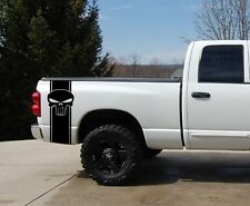 Punisher Pickup Truck Bed Stripe Decal Set 2 Chevy Dodge Nissan Toyota Ford GMC