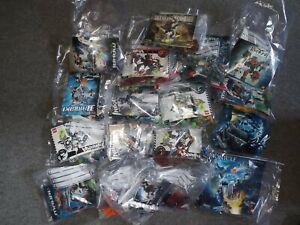 Lego Bionicle Restposten alle unvollständig