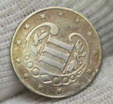 1856 US three cent piece