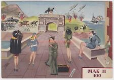 ITALY SOLDIER MILTARY WOMEN & PROSTITUTE SEXUAL IMAGERY FASCIST Boeri 1942 -IT08