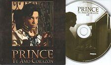 Prince  1 TRACK CD  TE AMO CORAZON  (c) 2005  CARDSLEEVE