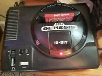 Genesis HUGE.VG CONDSlot! Systems,4 controllers,26 games total. Rare Sega mouse