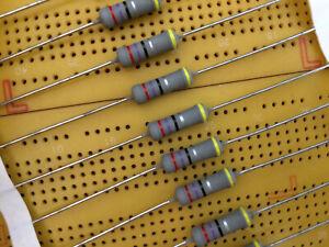 27 Ohm 10% 2W Metal Oxide Film Resistor Flame Proof Vishay SXA0617 Multi Qty