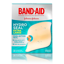 Band-Aid Brand Hydro Seal Extra Large Waterproof Adhesive Bandages - Wound Care