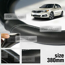 Carbon Steering Wheel Cover Glossy Urethane 380mm for KIA 2009-2010 Optima Lotze