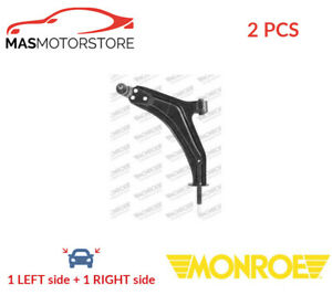 LH RH TRACK CONTROL ARM PAIR FRONT OUTER LOWER MONROE L17538 2PCS P NEW