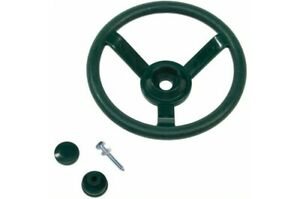 STEERING WHEEL~Green Cubby House Accessories Playground Equipment Fort