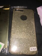Iphone 76 Plus Gold Sparkle Cass With Nano Soft Explosion Proof