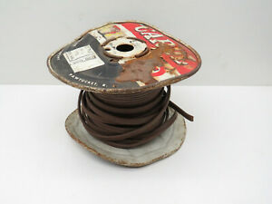 (50ft) Carol SPT-1 Brown 18/3 Lamp Cord Copper Wire Roll #18 AWG Gauge