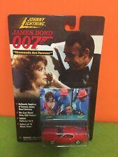 JOHNNY LIGHTNING 98 JAMES BOND 007 - FORD MUSTANG MACH 1 DAF + TIFFANY CARD MOC