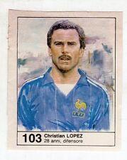 Figurina picture cards NEW IL GIORNALINO MUNDIAL 82 1982 N. 103 LOPEZ