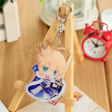 Fate/stay night Saber Key Chain Pendant New