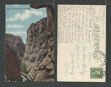 1912 Royal Gorge Colo From Below #8475 Postcard