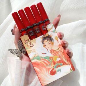 Women New Trend Matte Long lasting Waterproof Lipstick Tobacco Box Set Gloss Kit