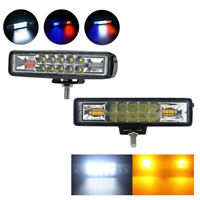 48W Strobe Flash Work Light Led Light Bar For Offroad 4X4 Atv Jeep Suv Motorcycl