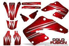 HONDA CR 125 250 00-01 GRAPHICS KIT CREATORX DECALS STICKERS COLD FUSION R
