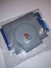 Vintage Retro Playstation Gamer Wallet PS1 New Sony Bifold