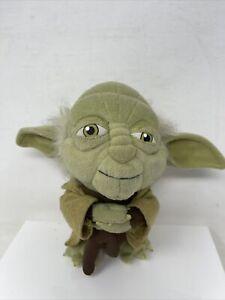 "Star Wars Yoda 7"" Plush Doll Toy Licensed Comic Images Lucas Film Disney Store"