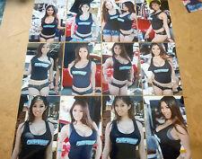 SET OF 12 4X6 PHOTOS OF ASIANS IMPORT CAR MODEL KAI LANSANGAN AKA XENA KAI Z-8