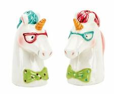 Boston Warehouse Magical Unicorn Salt & Pepper Shaker Set 74941