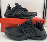 Nike Air Presto Triple Black Mens Size 8-13 305919-009 Brand New
