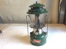 "1971 Coleman Lantern Model 220F Dual Mantle ""Sunshine of the Night"""
