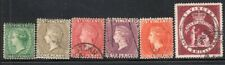 ST. VINCENT 1883/97 STAMP Sc. # 41/43 AND 52/4 USED
