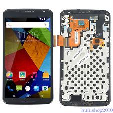 Black For Motorola Google Nexus 6 XT1100 XT1103 LCD Screen Touch Digitizer Frame