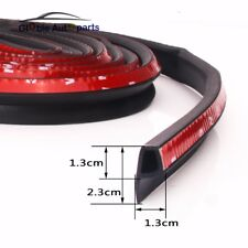 Car Trim Edge Moulding Rubber Seal Hollow Strip Weatherstrip P type 78.7in/6.5ft